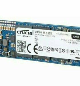 SSD диск Crucial MX300 m2 525gb
