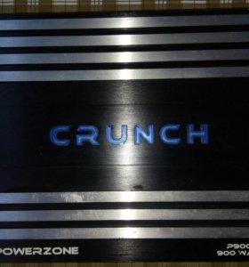 Уселитель crunch p900.4 и сабвуфер kicx