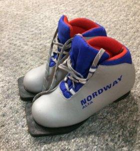 Лыжные ботинки детские