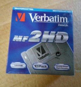 """Дискеты 3,5"""" Verbatim 1.44Mb"""