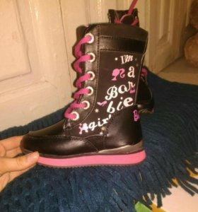 Ботинки Barbie. Новые