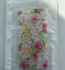 Чехол новый на iphone 5/5s силиконовый