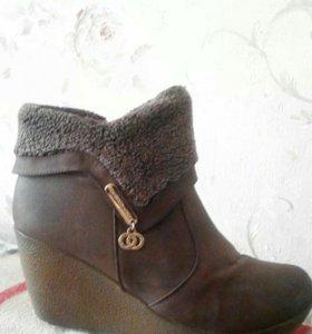Ботинки зимние, 41 р-р
