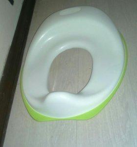 Стульчак детский прорезиненная основа