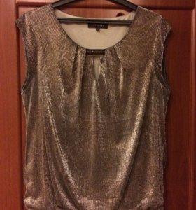 Блузка кофта 44-46р топ майка