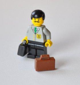 Коричневый Чемодан из Лего (Портфель / Кейс)