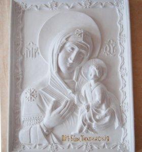 Икона - Богоматерь Тихвинская