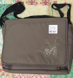 Новая сумка для коляски с матрасиком