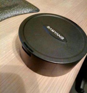 samyang 14mm крышка для этого объектива