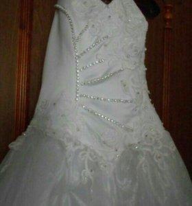 Свадебное платье р46-48