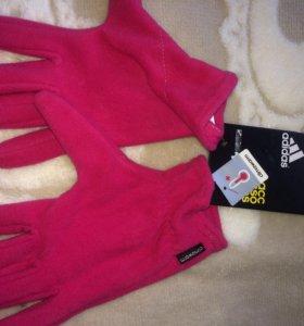 Перчатки женские Адидас новые L размер