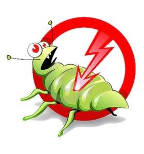 Дезинфектор (женщина) по уничтожению насекомых.
