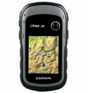 Туристический спутниковый навигатор(Garmin)