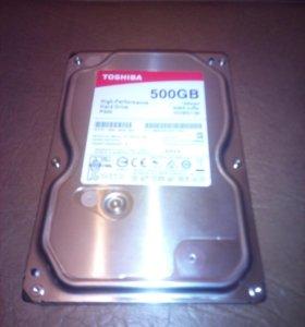 Жесткий диск Toshiba 500Гб