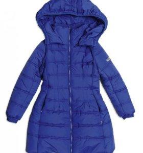"Пальто ""S'COOL"" зимнее для девочки - 152р."