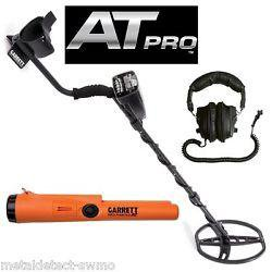 Garrett AT Pro Металлодетектор + Пинпоинтер