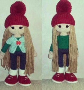 Вязаные куклы на заказ