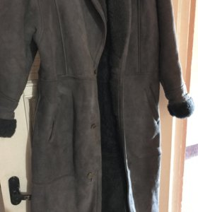 Дублёнка натуральная пальто