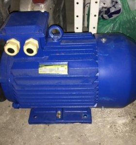 Электро двигатель 7,5 кВт и 11 кВт 1500 оборотов