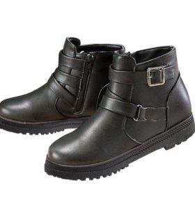 Зимние ботиночки 39 размер,новые!