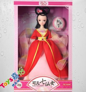 "Кукла фирмы Kurhn ""Фея"" 28.5 см"