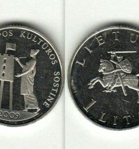Литва, 1 лит, 2009