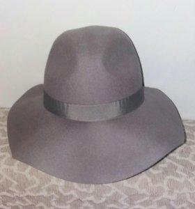 Шляпа серая TOPSHOP