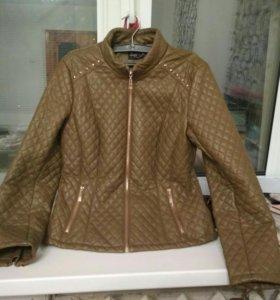 Куртка кожаная Savage