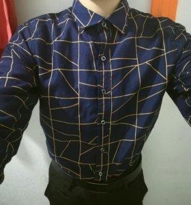 Мужская рубашка S 44-46
