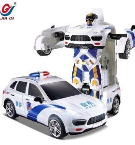 Полицейская машина Трансформер на радиоуправлении