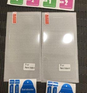 Защитное стекло на Xiaomi Redmi note 4/4x
