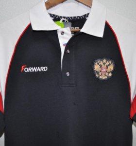 Мужская футболка-поло FORWARD ,коллекция 2017.
