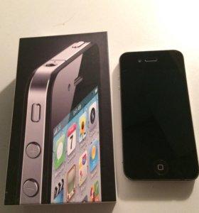 iPhone 4. Оригинал с чеком и коробкой. Айфон 4