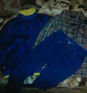 Пакет одежды для мальчика (р140)