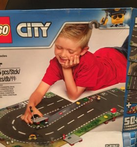 Lego City 853656 игровой коврик дорога