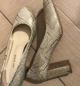 Турецкие туфли новые