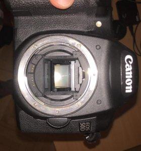 Canon EOS 50D + Canon lens EF 50mm
