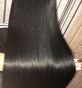 Кератиновое выпрямление для волос