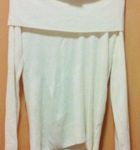 Новая белая кофта (джемпер, свитер) 52 размера