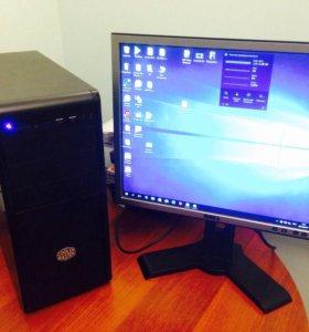 Компьютер+монитор  Intel G3240-4gb-ssd