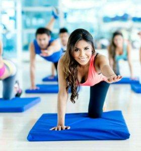 Фитнес, йога+шпагат