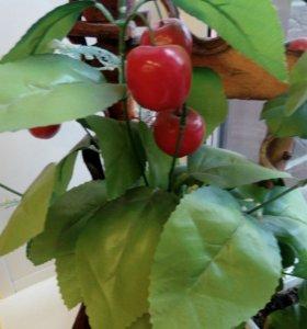 Декоративная яблонька с подставкой