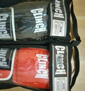 Перчатки боксерские, лапа