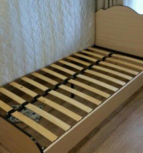 Кровать ортопедическая 1.2м