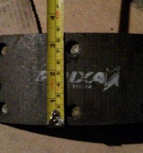 Тормозные колодки FRIXA HD 72