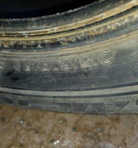 215/60/16 Bridgestone Blizzak Revo 1