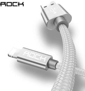 Зарядный кабель Rock для iPhone 5/5s/6/6s/7