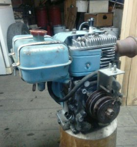 Двигатель от мотоблока Нева МБ-2 на запчасти.