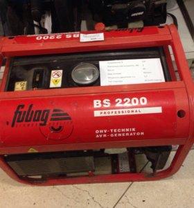 бензогенератор FUBOG BS 2200
