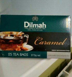 Чай Dilmah карамельный, 25пак. В упаковке